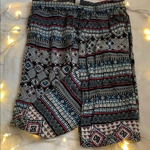 Cover up pants!